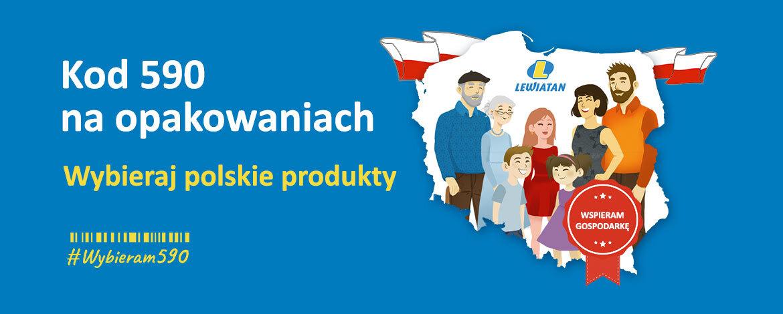 Kod 590 naopakowaniach – wybieraj polskie produkty