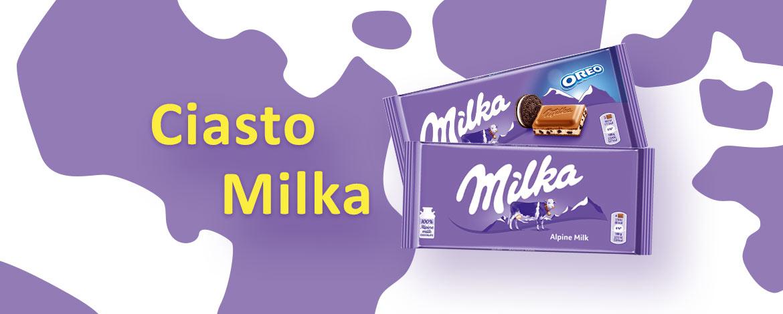 przepis naciasto Milka